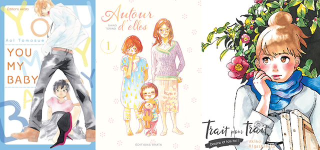 Trois nouveautés shôjo aux éditions Akata