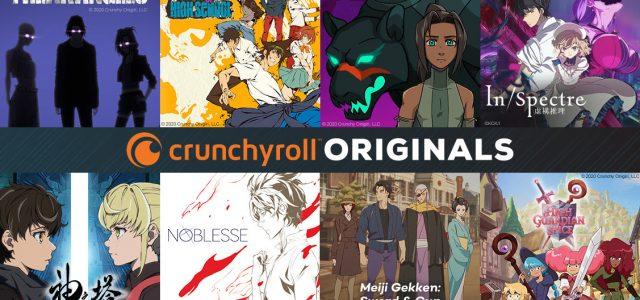 Huit séries pour inaugurer Crunchyroll Originals