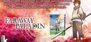 Faraway Paladin aux éditions Komikku