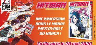 Kouji Seo présente Hitman, Les Coulisses du Manga
