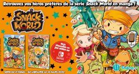 Snack World en manga chez nobi nobi!