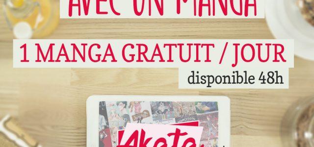 Akata rejoint l'opération #ResteChezToi avec un manga