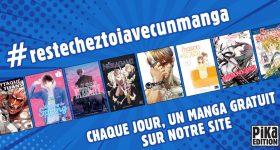 #ResteChezToi avec un manga des éditions Pika