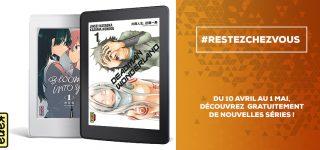 #ResteChezToi et lis des T1 avec les éditions Kana