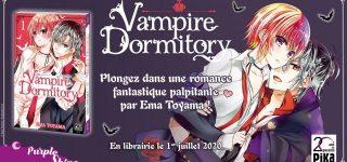 Vampire Dormitory à paraître aux éditions Pika