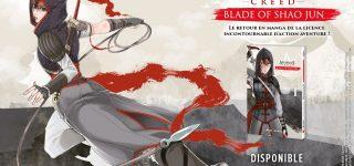 Assassin's Creed : Blade of Shao Jun à paraître chez Mana Books