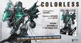 Colorless, nouvelle série de Shiba Edition