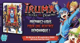 """Découvrez les aventures d'Iruma et de ses """"amis démons"""""""