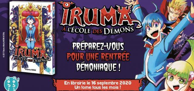Découvrez les aventures d'Iruma et de ses «amis démons»