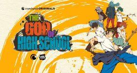 Le manhwa The God of High School adapté en anime