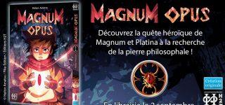 Magnum Opus, nouvelle série aux éditions H2T