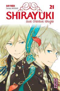 Shirayuki aux cheveux rouges Vol.21