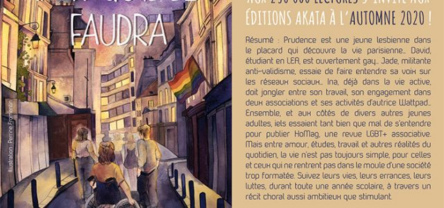 La saga LGBT+ Tant qu'il le faudra chez Akata