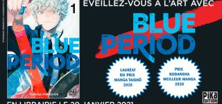 Le manga Blue Period à venir aux éditions Pika