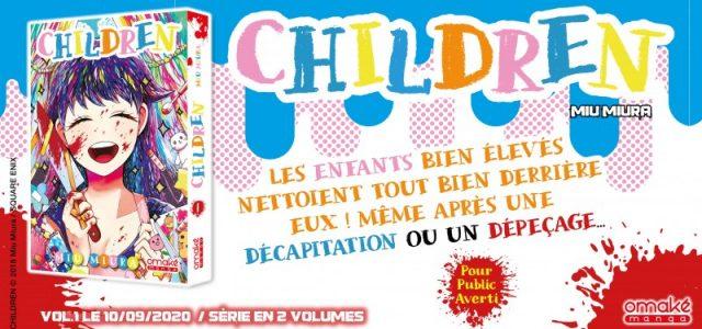 La série courte Children aux éditions Omake Books