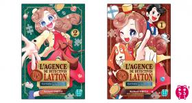 Katrielle Layton arrive en manga chez nobi nobi !