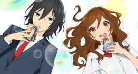 Le manga Horimiya adapté en anime
