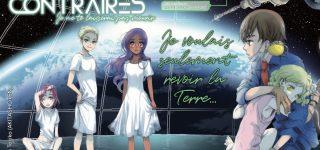 Nos temps contraires, shôjo de science-fiction chez Akata