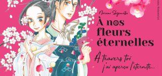 A nos fleurs éternelles, shôjo historique chez Akata