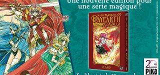 Magic Knight Rayearth revient aux éditions Pika