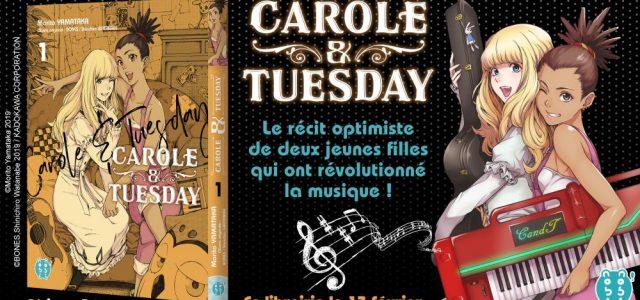 Carole & Tuesday s'installent chez nobi nobi!