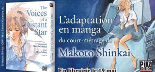 Le manga The Voices of a Distant Star à paraître chez Pika