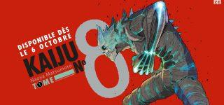 Le manga Kaiju n°8 à paraître chez Kazé
