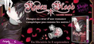 Le shôjo Rosen Blood chez Pika