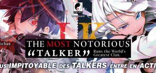 Meian annonce la parution de The Most Notorious «Talker»