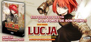 Le manga Lucja à paraître chez Vega – Dupuis