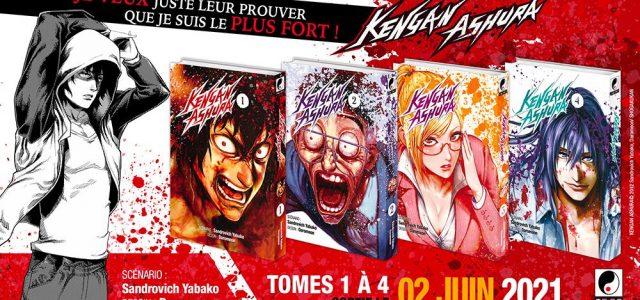 Le manga Kengan Ashura annoncé chez Meian