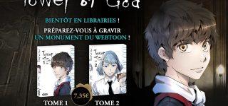 Le webtoon Tower of God chez Ototo Manga