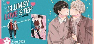 Clumsy Love Step à paraître aux éditions Hana