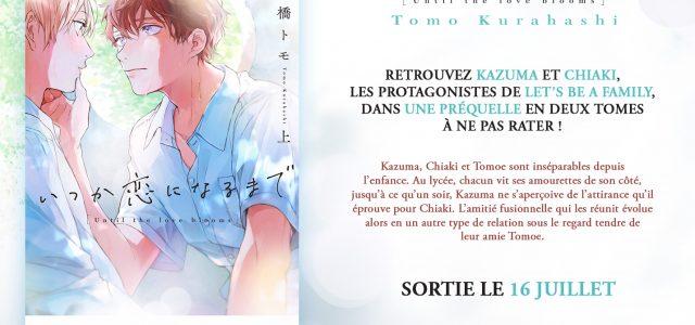 L'autrice Tomo Kurahashi de retour chez Taifu comics