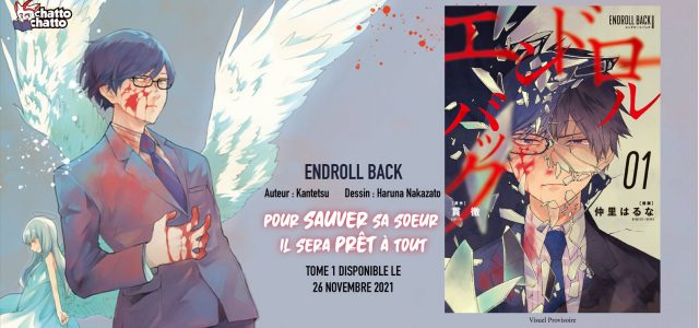 Le manga Endroll Back annoncé aux éditions ChattoChatto