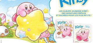 Des albums jeunesse pour Kirby chez Mana Books