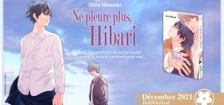 Ne pleure plus, Hibari annoncé aux éditions Hana