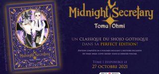 Midnight Secretary revient chez Soleil Manga