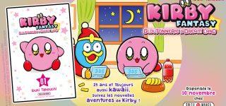Kirby est de retour aux éditions Soleil Manga