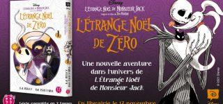 L'Étrange Noël de Zéro aux éditions nobi nobi !
